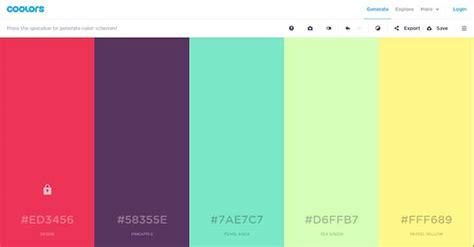 color palette generator  web designer  developer