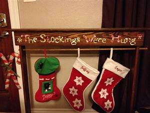 pin by meagan pearson on from the shop items ideas With wooden letters for stockings