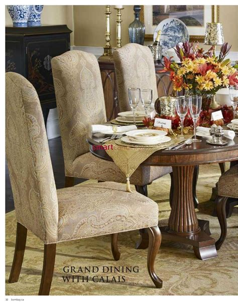 dining chairs canada bombay furniture sale catalogue