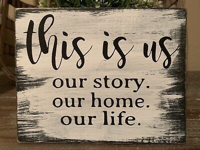 details  rustic wood sign    life family