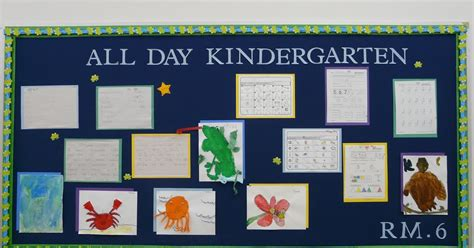 bulletin board ideas all day kindergarten 643 | Room 6