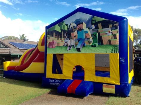 large banner castles jumping castle hire in wollongong sutherland shire south sydney