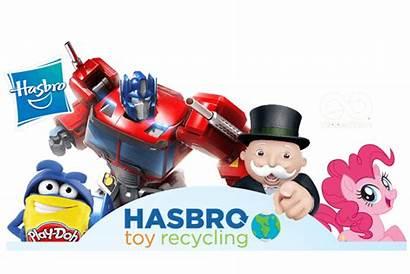 Hasbro Spielzeug Programm Recycling
