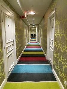 Funky corridor carpet and wallpaper - Picture of Sandton ...