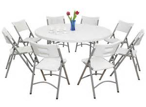 round folding table benefit and features