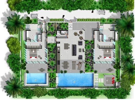 Villa Floor Plan by Villa Floor Plan Sinalei