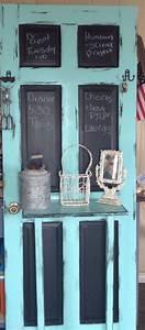 memo, door, , upcycled, door, to, entryway, family, memo, center