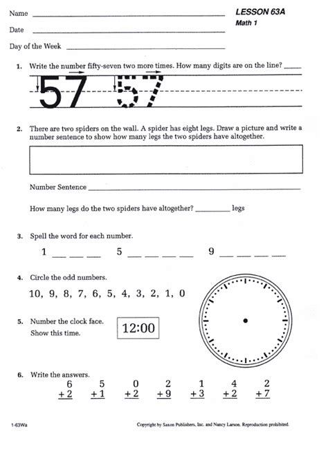 saxon math 1 homeschool kit 1st edition bookshark