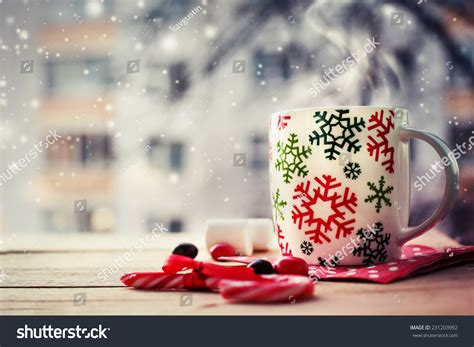 Hot Coffee Cup On Frosty Winter Stock Photo 231203992 Nestle Coffee Details Starbucks Price Nsp Nespresso Pods Winnipeg Creamer Coupons Per Lb History Mate Side Effects In Pakistan