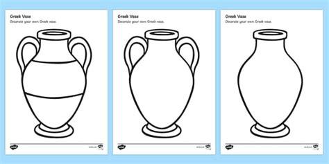 greek vase design sheet pottery designs ks