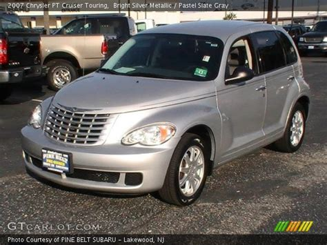 2007 Chrysler Pt Cruiser Touring by Bright Silver Metallic 2007 Chrysler Pt Cruiser Touring
