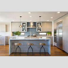 Contemporary Coastal Coronado  Contemporary Kitchen