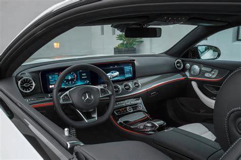 Rear apron in diffuser look. 2020 Mercedes-Benz E-Class Coupe Interior Photos   CarBuzz