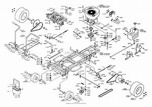 Dixon Ztr Classic  2003  Parts Diagram For Chassis