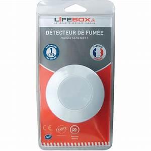 Bombe Test Détecteur De Fumée : test lifebox serenity 1 d tecteur de fum e ufc que choisir ~ Edinachiropracticcenter.com Idées de Décoration