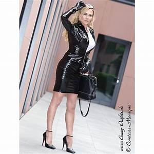 Vinyl skirt DS-528V  Crazy-Outfits - webshop for leather clothing shoes and more.