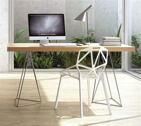 bureau atylia 39 idées déco de tréteaux pour créer une table ou un bureau