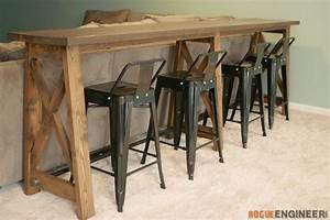 Bar Top Console Table » Rogue Engineer