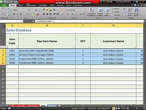 Microsoft excel inventory and invoicing system youtube for Invoice inventory excel