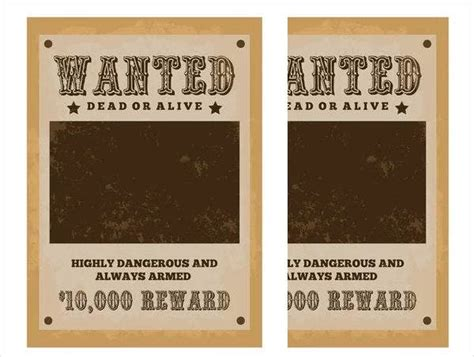 7+ Character Wanted Posters - Free PSD, Vector, EPS Format ...