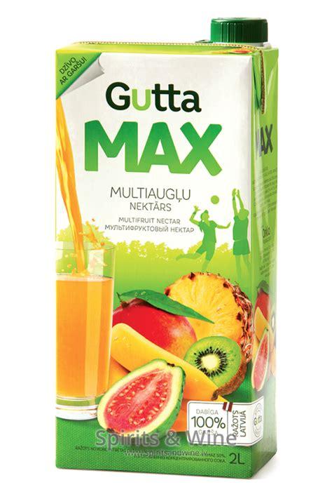 Gutta Max Multiaugļu nektārs - Juice - Spirits & Wine