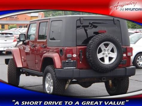 how make cars 2007 jeep wrangler parking system sell used 2007 jeep wrangler unlimited sahara in 1300 central park dr o fallon illinois