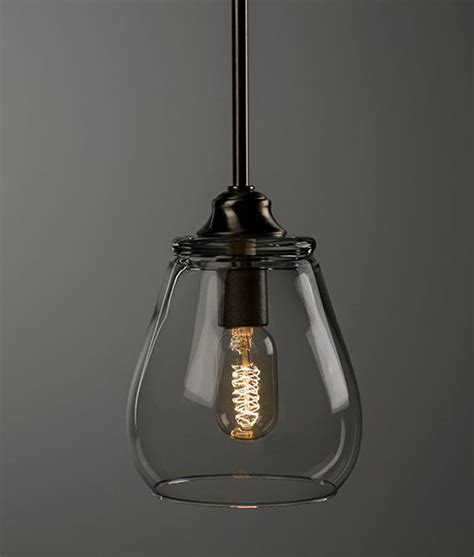 pendant light fixture edison bulb brushed nickel