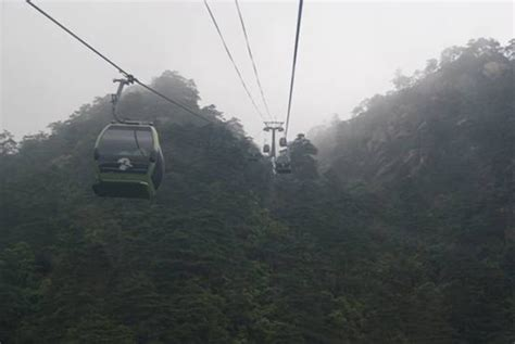huangshan mountains fascinate foreign visitors
