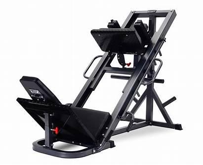 Leg Press Hack Squat Strength Titanium Piernas