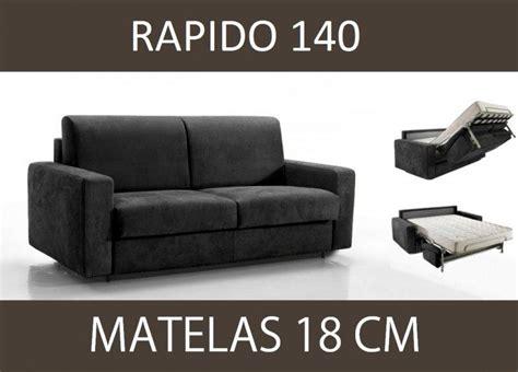 canapé lit 140 cm canape lit 3 places master convertible ouverture rapido