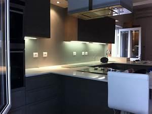 Pose Credence Verre : cr dence en verre muret abm miroiterie vitrerie ~ Premium-room.com Idées de Décoration