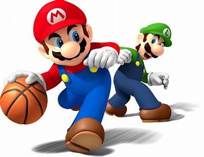 Mario Luigi Basketball Sports Mix Artwork Team