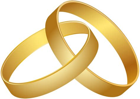 wedding rings gold png clip best web clipart