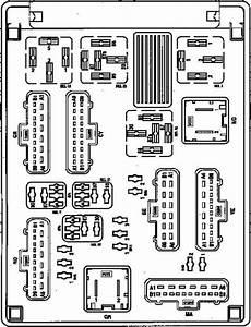 Renault Espace  2002 - 2006  - Fuse Box Diagram