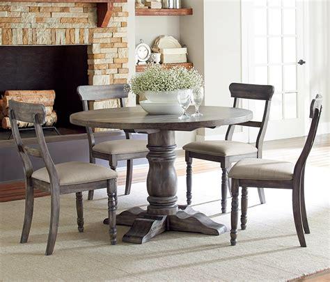 progressive furniture muses 5 dining table set