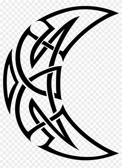 Moon Tribal Celtic Crescent Tattoo Tattoos Transparent