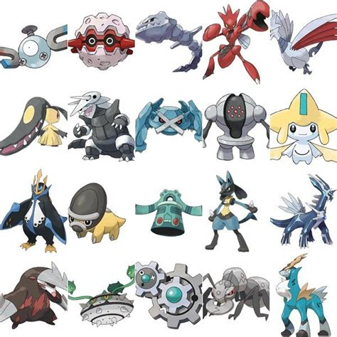 pokemon steel type google search pokemon pinterest