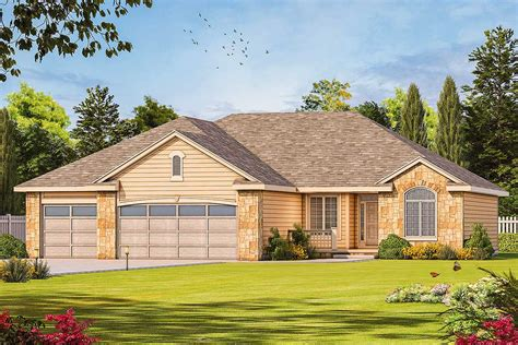 house plans well designed ranch house plan 40900db architectural