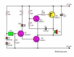 Simple Light Detector Alarm With Solar Sensor