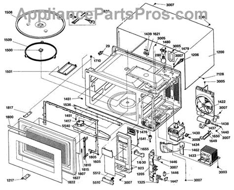 ge 31 1433 a wiring diagram schematic appliancepartspros