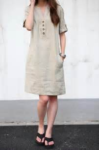 Plus Size Cotton Linen Dresses
