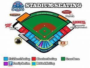 Smokies Baseball Seating Chart Stadium Seating Chart Tennessee Smokies Smokies Stadium