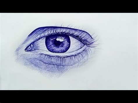 draw realistic eye    beginners youtube