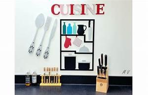 Couvert De Cuisine : d co cuisine couverts et tableau ustensiles en bois la deco de margot ~ Teatrodelosmanantiales.com Idées de Décoration