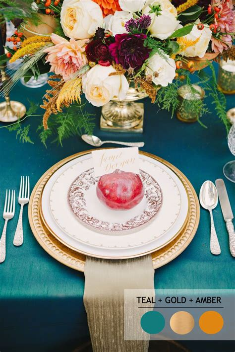 fall wedding color palettes fall color combinations