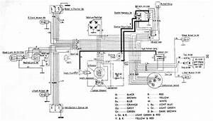 Honda C102 Wiring Diagram  With Images