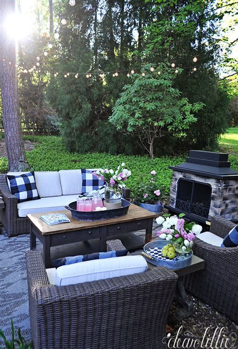 Dear Lillie Our New Outdoor Living Space