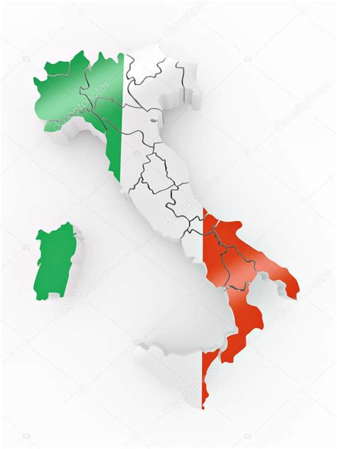 flags italian flag map stock italy flag map www pixshark images galleries with flag