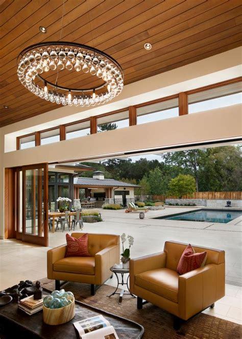 open air living room  pool access hgtv