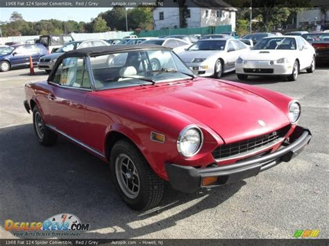 1968 Fiat Spider by 1968 Fiat 124 Spider Convertible Grey Photo 3
